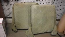 Jeep Willys CJ2A CJ3A M38 M38A1 Hummer used seat back cushions Canvas