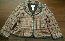 Janie and Jack collection 4 t blazer gold jj & buttons lined mint top jacket