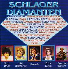 Schlagerdiamanten Siw Malmkvist, Manuela, Peter Rubin, Graham Bonney, Pet.. [CD]