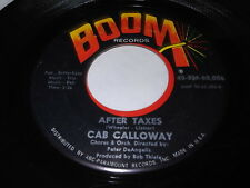 Cab Calloway: After Taxes / History Repeats Itself 45
