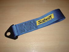 Sabelt Competition Car Fixed Tow Eye Strap/Webbing blue,race rally track car etc