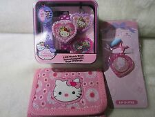 Hello Kitty Lot Wrist Watch & Wallet & Lip Gloss/Necklace Trinkets New Condition