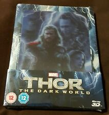 Thor The Dark World - Limited Edition Lenticular Steelbook (Blu-ray 2D/3D) NEW!!