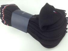 Men's TOMMY HILFIGER Black LOW CUT Socks - 6 Pack - $36 MSRP - 35% off