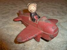 Vintage 1950's RUBBER - MICKEY MOUSE AIR MAIL PLANE