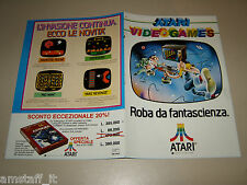 ATARI VIDEOGAMES PAC MAN DEFENDER HAUNTED HOUSE=PUBBLICITA=ADVERTISING=AU32=