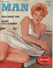 Modern Man June 1963 Vintage Glamour Pin-up Diana Hunter June Palmer Centerfold