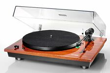 Thorens TD 295 MK IV- Mahogany Belt-drive Turntable, Factory-mount Cartridge