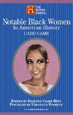 Notable Black Women Playing Cards New