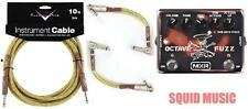 MXR by Dunlop SF01 SLASH Signature Series Octave Fuzz ( 10FT & 2 PATCH CABLES )