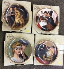 4 Knowles Wall Plates From Norman Rockwell's Rediscovered Women Collection