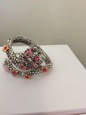 "$125 Betsey Johnson Jewelry ""Memoirs of Betsey"" Pave Dragon BJL 2"