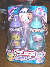 YUMMI LAND SODA POP PETS SENTED CARA CORN BREAD & MANDY MUFFIN NEW DOLLS RETIRED