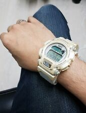 G-Shock Vintage White Alaska Wolf Cloth Band Rare From Korea Limited Edition