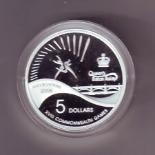 """2006 $5 COMMONWEALTH GAMES QUEEN""""S BATON RELAY Silver Proof Coin"""