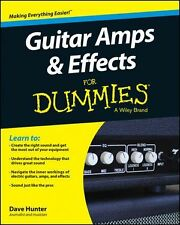 Guitar Amps & Effects For Dummies Learn EASY BEGINNER Reference MUSIC BOOK