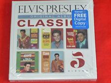 ELVIS PRESLEY : AT THE MOVIES - Original Album Classics 5CD Box Set