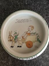 Shelley Mabel Lucie Attwell Baby's plate Bowl Nursery Ware Vintage