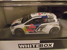 Volkswagen vw polo r wrc rallye suède 2014 Latvala whitebox 1/43