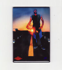 MICHAEL JORDAN / TAKE OFF - FRIDGE MAGNET (costacos poster chicago nike air dunk