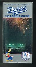 1984 Los Angeles Dodgers Baseball MLB Media GUIDE