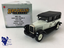 1/43 BROOKLIN BML 19X GMC MODEL 6 TAXI CAB ERNIE'S CAB 1930 WHITE BLACK