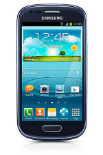 Samsung Galaxy S3 Mini SM-G730A AT&T Android Smartphone - 8GB Blue