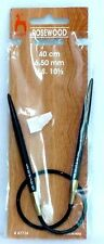 New in Package!!  PONY Rosewood US 10.5/ 6.5mm  40 cm Circular Knitting Needles
