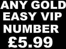 1 SIM CARD GOLD EASY PLATINUM VIP MEMORABLE MOBILE PHONE NUMBER BRAND NEW