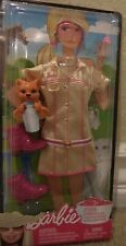 BARBIE FASHION CAREER ZOO PET VET OUTFIT W/ TIGER CUB R7597 2009 *Nu*