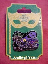 WDW Disney Pin Mickey's Not So Scary Halloween Party 2016 Ltd Release Ghost Logo