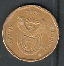 South Africa 50 Cent Coin - 2008