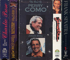 BEST OF PERRY COMO CHRISTMAS FRANK SINATRA MAN & HIS MUSIC etc VHS VIDEOTAPE LOT