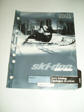 SKIDOO 2001 MACH Z PARTS CATALOG  MANUAL