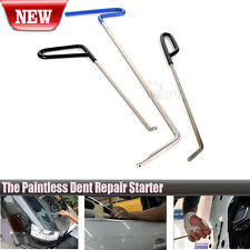 3Pcs PDR Paintless Dent Puller Rods Hail Removal Tools Auto Car Body Repair Kit