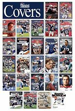 SUPER BOWL CHAMPION PATRIOTS SPORTS ILLUSTRATED COVERS POSTER