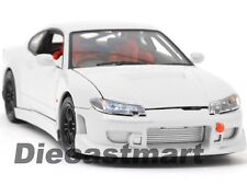 WELLY 1:24 NISSAN 200SX SILVIA S15 RHD DIECAST MODEL CAR JDM 22485 WHITE NEW