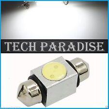 1x Ampoule 36mm C3W C5W C7W C10W LED Xenon 4W Blanc White plaque Navette Festoon