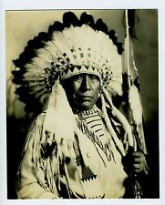 FANTASTIC!!! Native American Indian Chief photos Black Plume Blackfoot Kainai