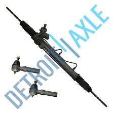 Complete Power Steering Rack and Pinion + 2 Outer Tie Rods W/ PRESSURE SWITCH