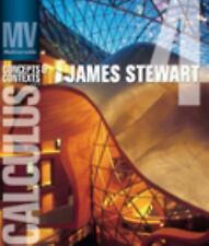 Multivariable Calculus: Concepts and Contexts (Available 2010 Titles Enhanced ..