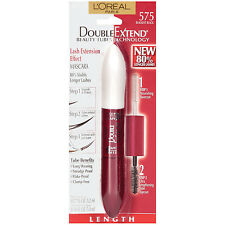 Loreal Double Extend Beauty Tubes Mascara, 575 Blackest Black!