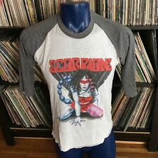 Vintage Scorpions Band U.S. Concert Tour 1984 Love at First Sting T-shirt