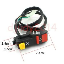 ATV Dirt Bike Motorcycle Stop Cut Kill Switch With Start Starter Button 50-150CC