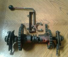 LOOK! Vintage Gilson Geardrive Snowblower Shifter Transmission Parts OBSOLETE