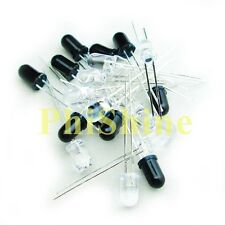 20PCS 5MM 940nm Infrared Diode IR LEDs 10 Infrared Emitter + 10 Receiver