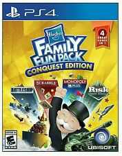 Hasbro Family Fun Pack Conquest Edition (PlayStation 4, 2016) New Sealed & Fast