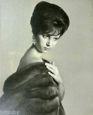 BEAUTIFUL Vintage Large PHOTO FUR CAPE YOUNG WOMAN SEXY POSE MODEL exotic WATSON