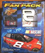 Nascar Dale Jr Official Driver Fan Pack - CAR +T SHIRT + Decal  * NEW * SEALED *