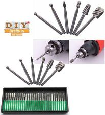 DIY Crafts® Diamond Burrs+Routing Router Drill Bits Dremel Carbide Rotary Burrsk
